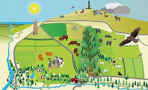 Deer Park Farm - easy map