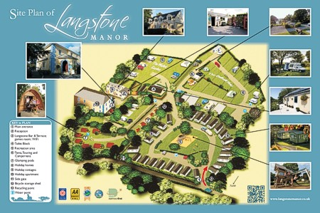 Langstone Manor - site plan and maps