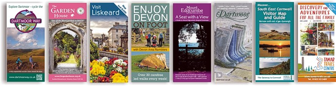 Leaflets, brochures and flyers from Graphic Words of Tavistock