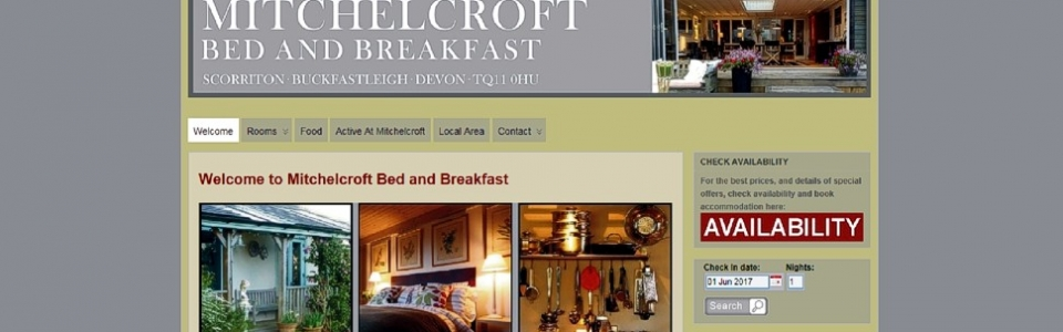 Mitchelcroft Bed and Breakfast on Dartmoor
