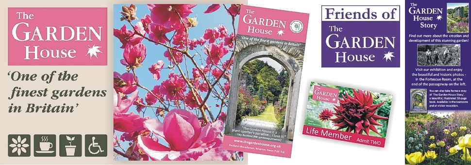 Brand and Identity updating and design for the Garden House