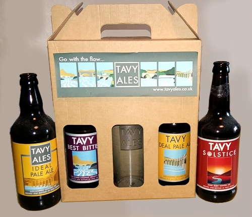 Tavy Ales bottle labels designed and produced by Graphic Words of Tavistock