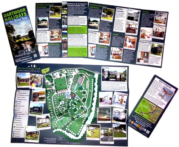 Harford Bridge Holiday Park - introductory leaflet