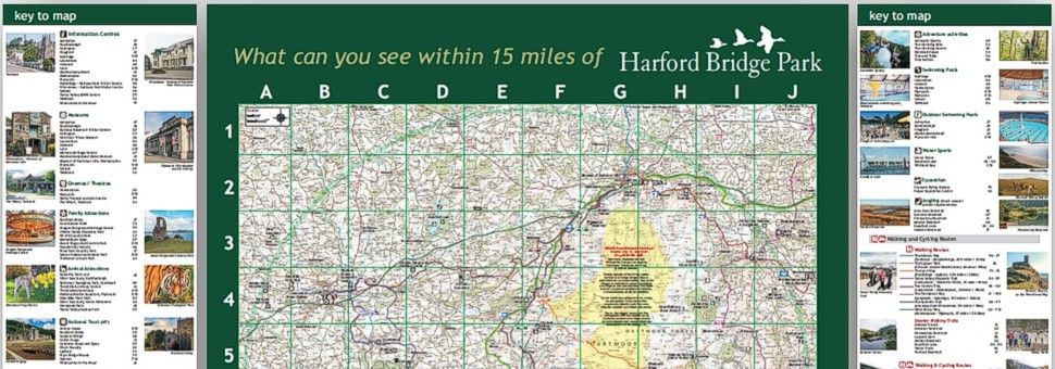 MApping for Harford Bridge Holiday Park