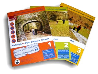 Short walks leaflets - updated by Graphic Words of Tavistock