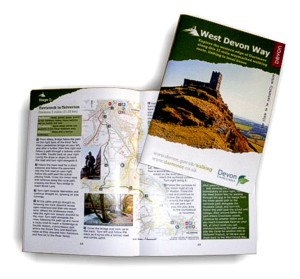 West Devon Way - walking trail Route Guide designed by Graphic Words of Tavistock