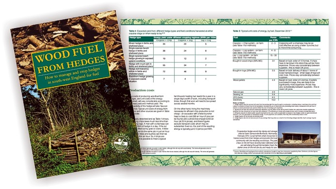 Wood Fuel from Hedges - book design by Graphic Words