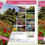 The Garden House - 2019 calendars