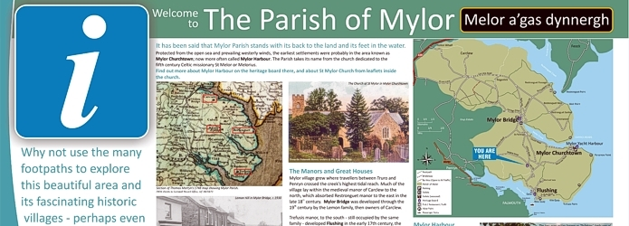 ~Mylor interpretation panels