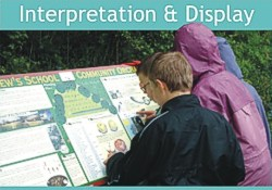 Interpretation panels, display panels and exhibition materials - click here for more details