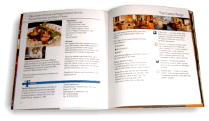 Castles Kitchens brochure - celebrity chef recipe page