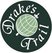Drakes Trail logo developed by Graphic Words